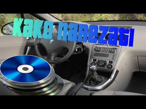 Kako skinuti i narezati muziku (CD) za AUTO?