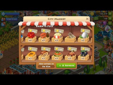 Township Level 65 Update 29 HD 1080p