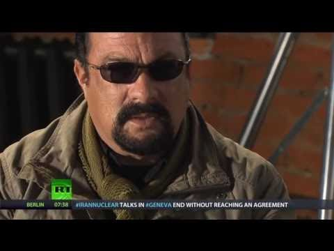 GMB viewers left SHOCKED by Steven Seagal interview: 'What has he done?'