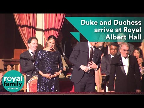 Duke and Duchess of Sussex arrive at Royal Albert Hall