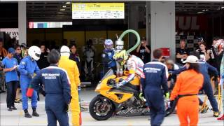 【Suzuka 8 hours 2012】 #135 Team Tras・BMW S1000RR with Yoshinari MATSUSHITA