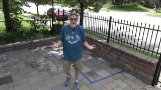 Paver Staining Tips - Scattering