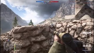 Longest Battlefield 1 Sniper Headshot