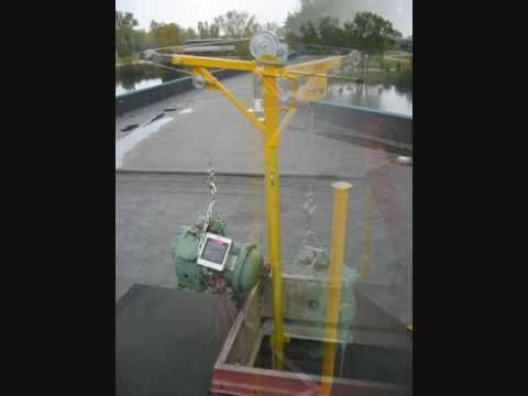 Ladderport Cranky Portable Winch With Port A Post Slide