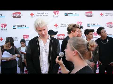Ricky Dillon Interview at Tubeathon for the American Red Cross