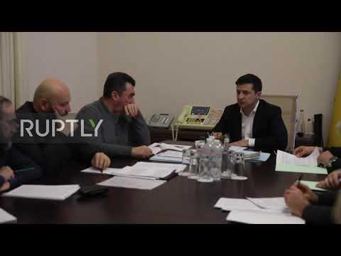 Ukraine: Zelenskiy holds meeting on Tehran plane crash investigation