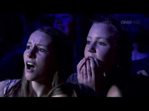 "Andre Vegas Magician New Zealands Got Talent 2012 Semi Final 1 "" BLADE "" Illusion thumbnail"