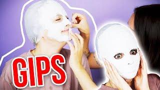 Gesicht voller GIPS 🙊 FACE CAST machen w/ Alycia Marie | XLAETA