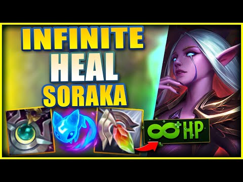 *SEASON 11* SORAKA CAN NOW FULL HEAL THE ENTIRE TEAM THROUGH EVERY FIGHT! - League of Legends