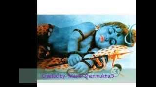 Om namashivaya song lali lali ma bala sivuniki
