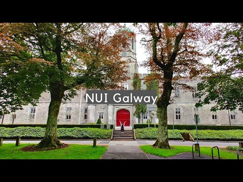NUI Galway - Quick Campus Tour   Study in Ireland   Post COVID-19