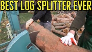 Best Log Splitter and Cutters Ideas - Homemade Wood Processing Skills