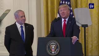 الأردن يؤكد على مواقفه الثابتة من القضية الفلسطينية (28/1/2020)