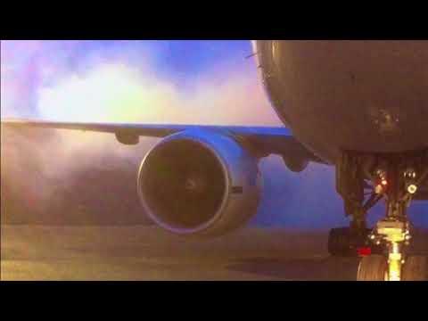 Boeing 777 New Engine, First Start