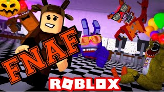 I run away from FNAF monsters on roblox!!! (Roblox)
