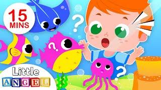 Baby Goes to the Aquarium | Baby Shark, Ocean Animals, Kids Songs & Nursery Rhymes by Little Angel