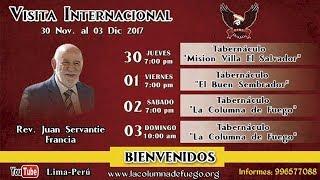 Visita Internacional - Rdo. Juan Servantie - Francia - Sabado 02.12.17