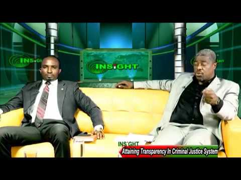 INSIGHT ON ATTAINING TRANSPARENCY ON NIGERIA'S CRIMINAL JUSTICE SYSTEM
