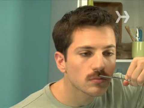 how to trim your mustache youtube. Black Bedroom Furniture Sets. Home Design Ideas