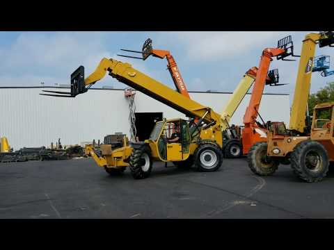 2009 Genie GTH-1056 (Factory Yellow Paint) Demo Video