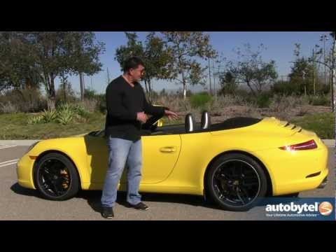 2013 Porsche 911 Carrera S Cabriolet Test Drive & Convertible Sports Car Video Review