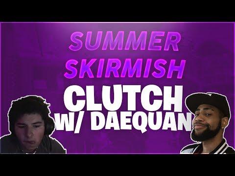 Summer Skirmish Clutch W/ Dae! (Fortnite Battle Royale)