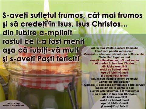 URARE DE PAȘTI – Cantece pentru copii in limba romana