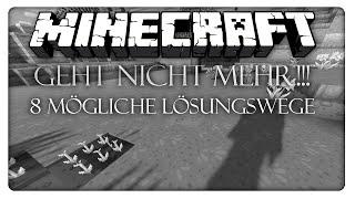 Minecraft geht nicht mehr!!! - 8 Mögliche Lösungswege! [Deutsch] [HD]