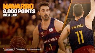 FCB Basket: Navarro reaches 8,000 points in Endesa League