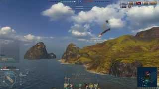 World Of Warships Marblehead 10,868 XP (2900 raw)
