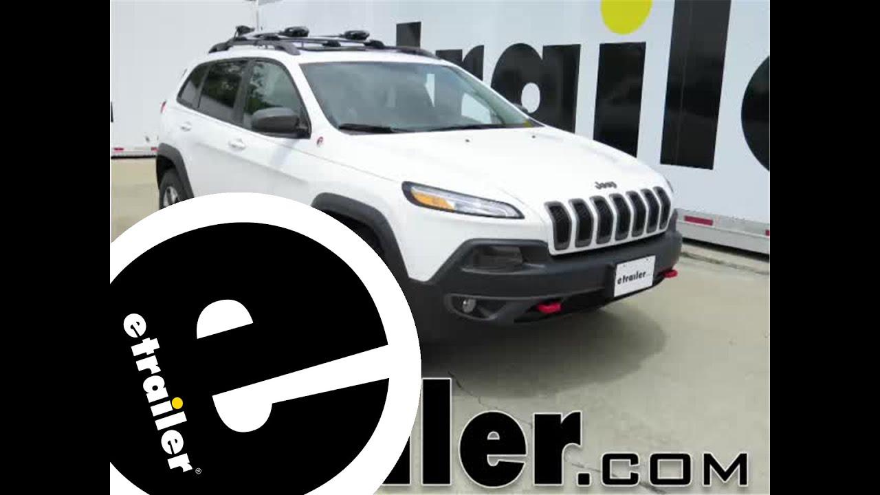 Installation Of A Trailer Hitch On 2014 Jeep Cherokee Etrailer Cj Wiring Harness Etrailercom