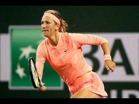 2018 Indian Wells First Round | Victoria Azarenka vs. Heather Watson | WTA Highlights