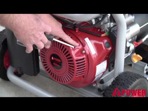 SUA12000E A-iPower Portable Generator - A Demonstration Video 459CC Engine