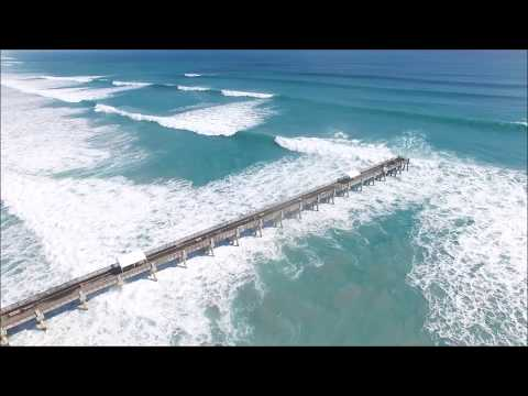 Nor'easter Swell Palm Beach County HD (Drone)