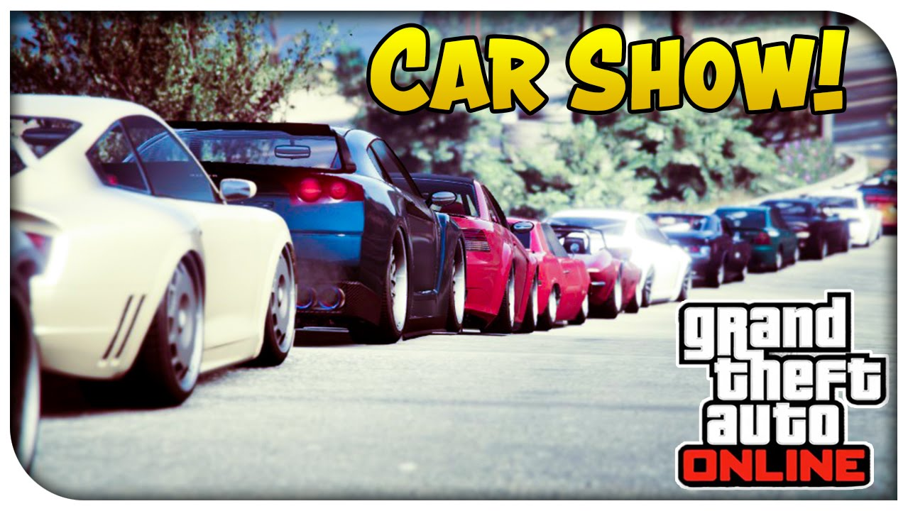 GTA Online Xbox One Vanilla Car Show Bring Any Car GTA V - Any car shows near me