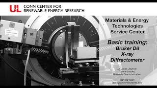 MET Basic Training: X-ray Diffractometer (XRD)