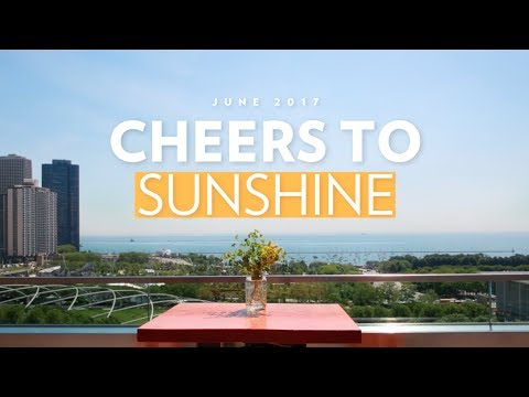 Cindy's | Cheers To Sunshine | Chicago's Best Rooftop Bars