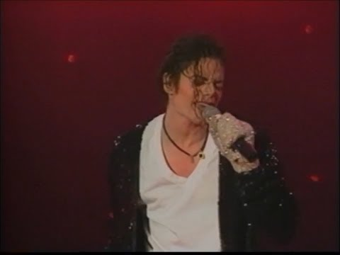 Michael Jackson - HIStory Tour Basel, Switzerland July 25, 1997 - Billie Jean (Original VOB Version)