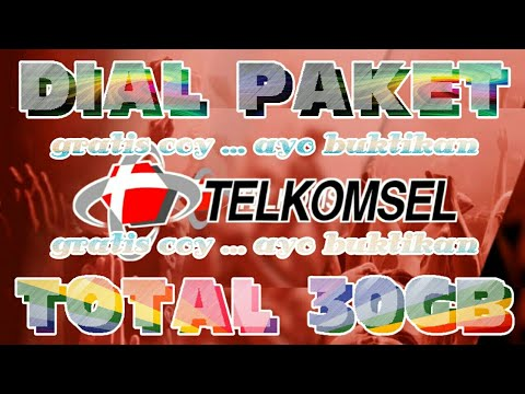Heboh Dial Paket Telkomsel Total 30GB Gratis | TUTORIAL ANDROID #72