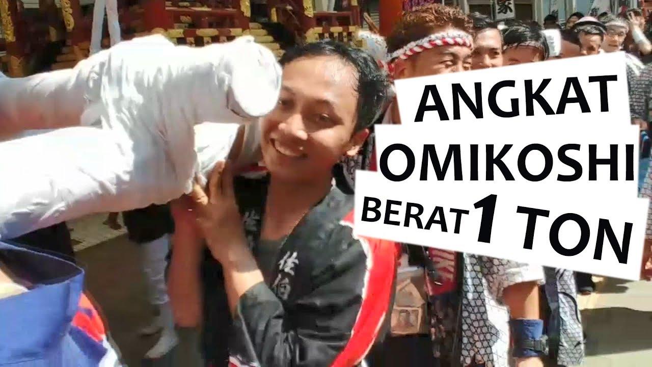 Matsuri angkat omikoshi di Nobeoka #suwungvideo