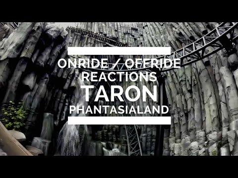 Taron - Offride, Onride & First Reaction - Phantasialand POV