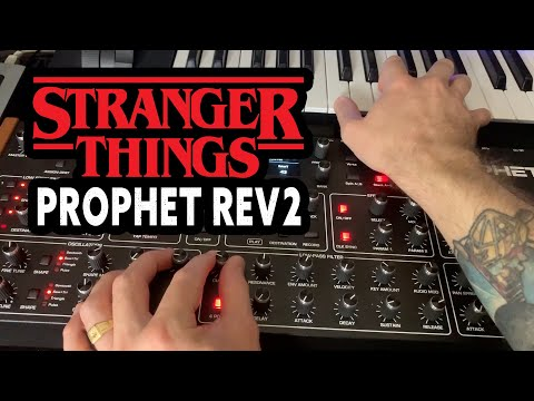 Recreating the Stranger Things theme with ONE synth (Prophet Rev2)