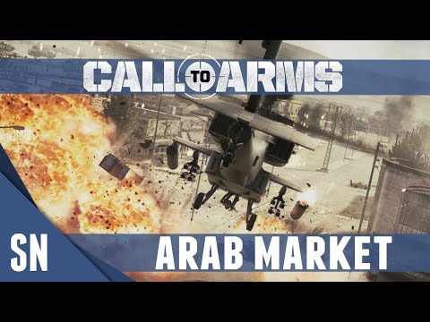Call to Arms - Gameplay - USA Campaign #5: Arab Market