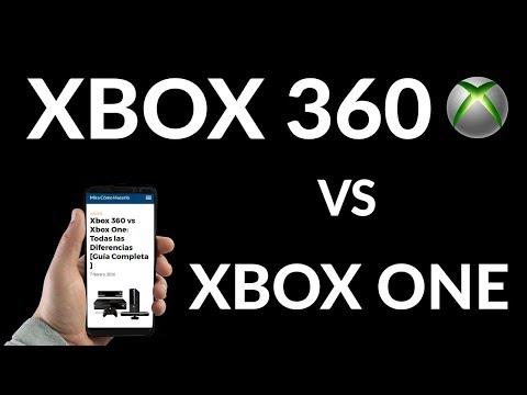 Xbox 360 vs Xbox One - Todas las Diferencias