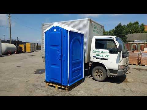 Туалетная кабина серии ЛЮКС