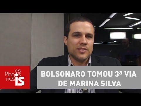 Bolsonaro tomou 3ª via de Marina Silva, analisa Felipe Moura Brasil