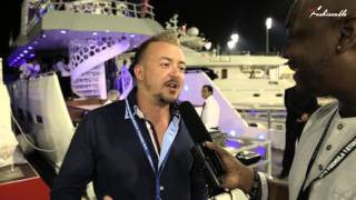 Keiran of Epic Yachts at F1 Abu Dhabi Race Weekend 2015