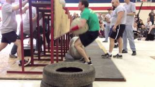 Chris Noonan • Maine StrongMan 6 • Event #5: Atlas Stone Series