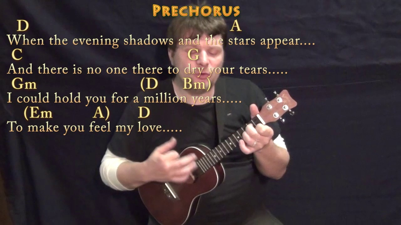 Make you feel my love ukulele cover lesson in d with chords make you feel my love ukulele cover lesson in d with chordslyrics hexwebz Image collections