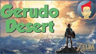 Gerudo Desert - Breath of the Wild